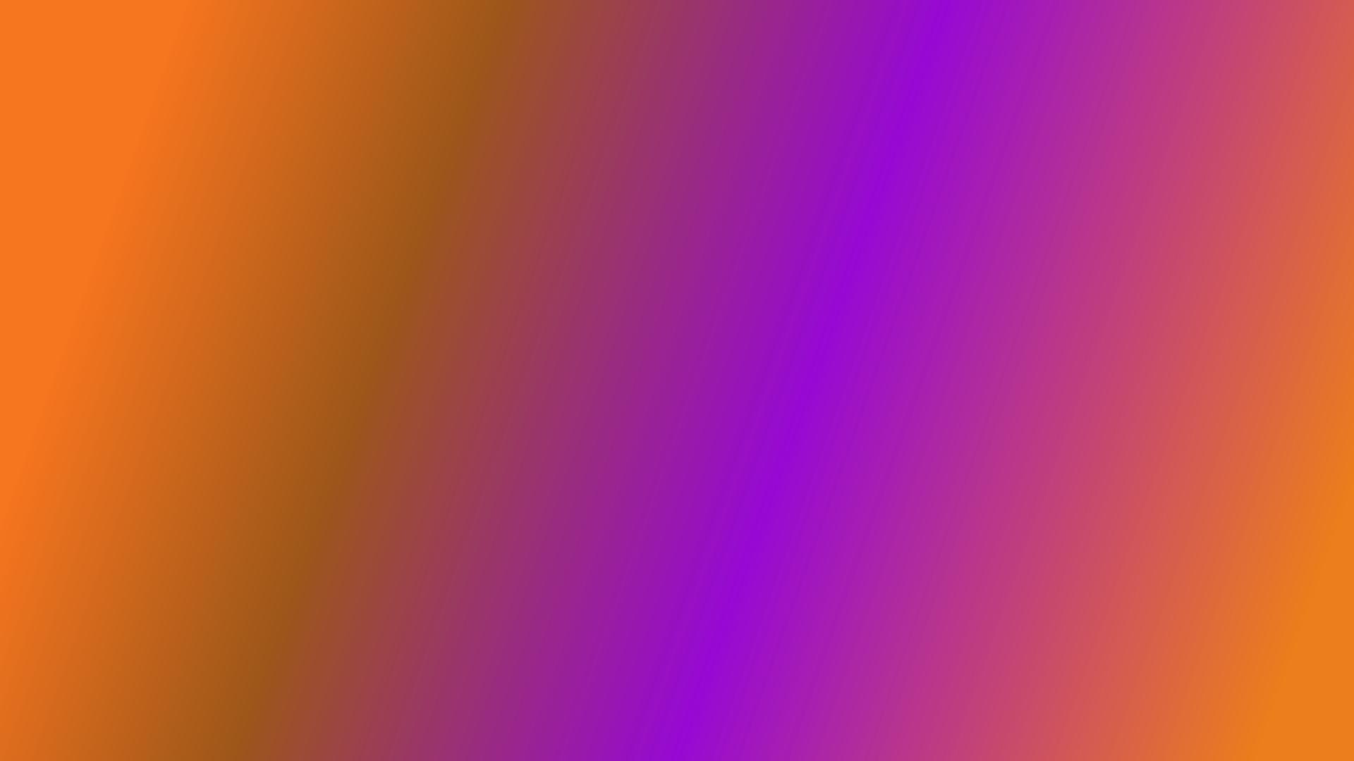 Orange and purple Gradient
