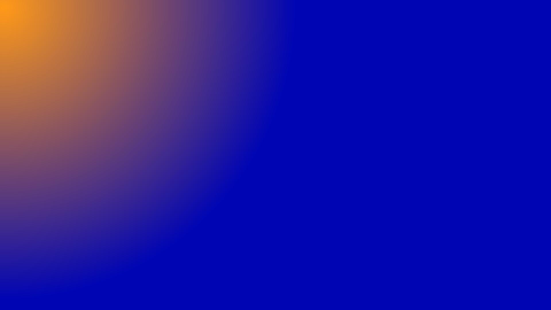 Oranjeblauw Gradient