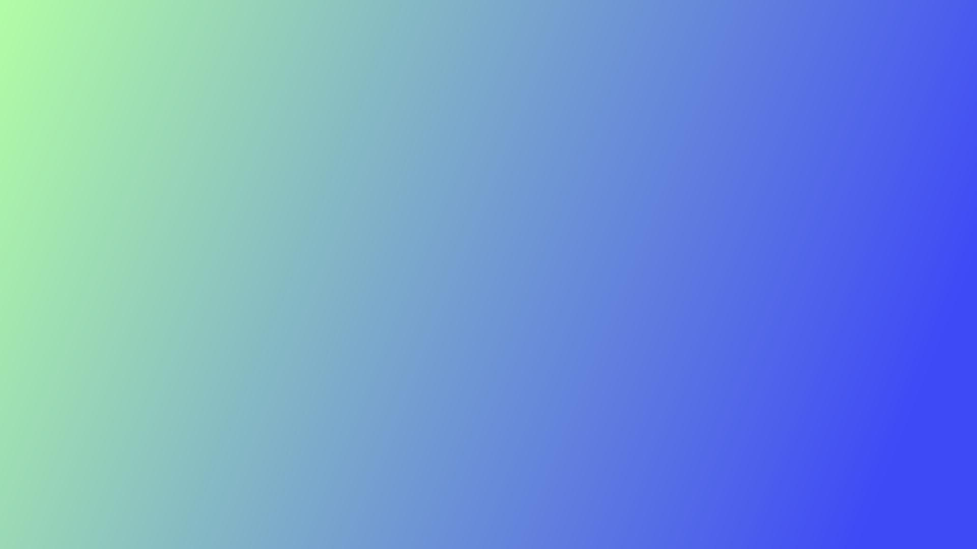 Green to blue Gradient