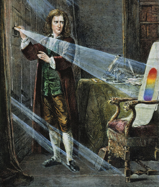 Newton Color Theory